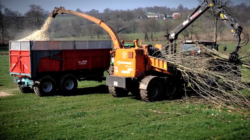 de démonstrations sur la production de bois énergie  Bois